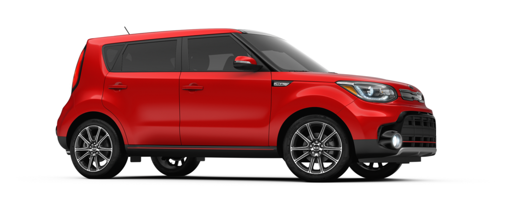 Amazing KIA SOUL RED