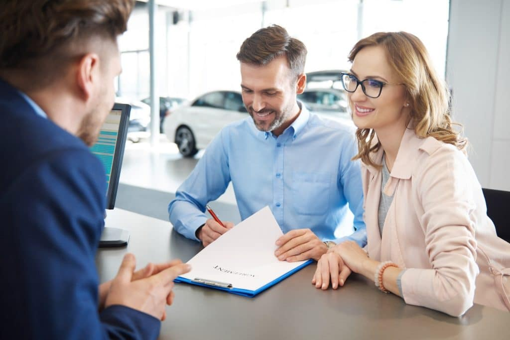 Car Financing Paperwork