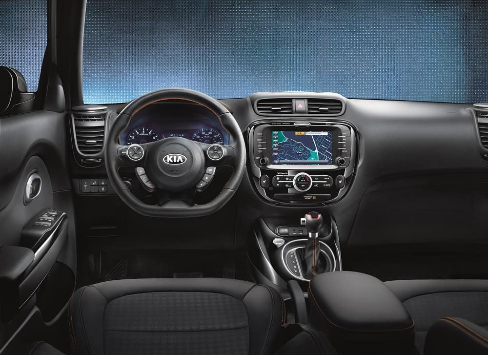 2019 Kia Soul Interior Dashboard