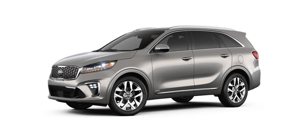2019 Kia Sorento SX Limited Titanium Silver