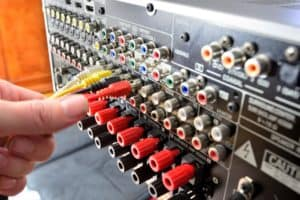 Plugging in Amp