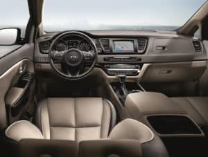 2019 Kia Sedona Interior Technology