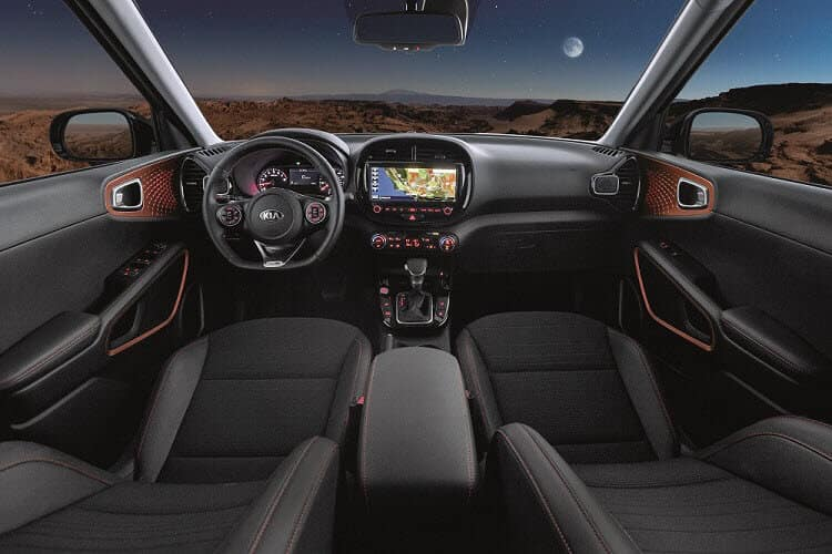Kia Soul GT Line Turbo Interior