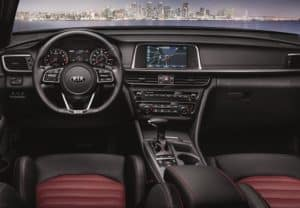 Kia Optima Interior Features
