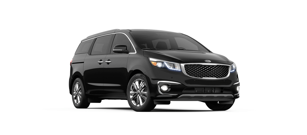 2019 Kia Sedona SX Limited in Aurora Black Pearl