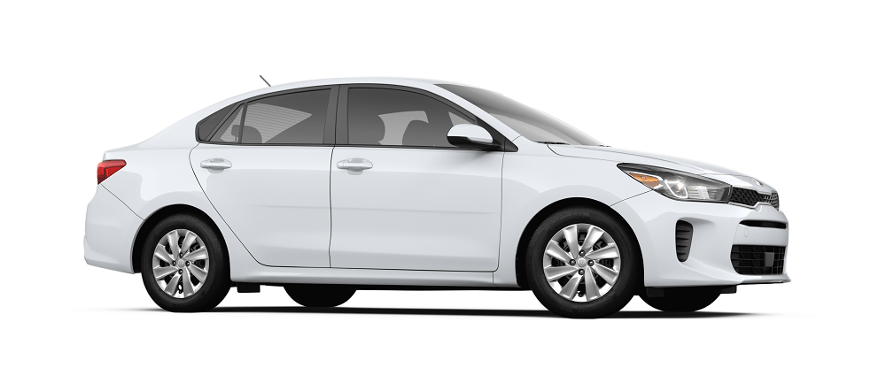 2019 Kia Rio in Clear White
