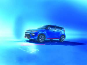 2020 Kia Soul in Blue