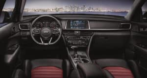 2020 Kia Optima Infotainment System