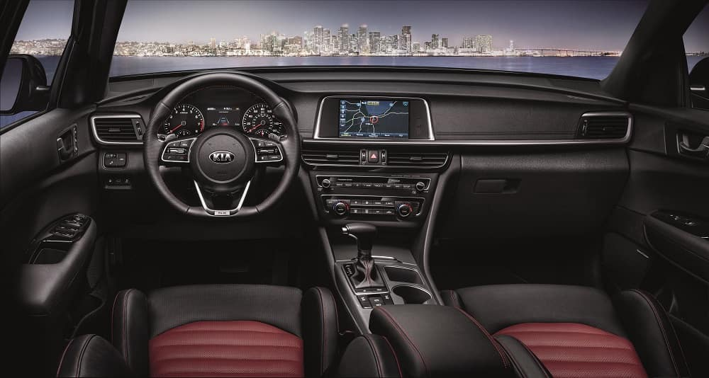 2020 Kia Optima Interior Technology