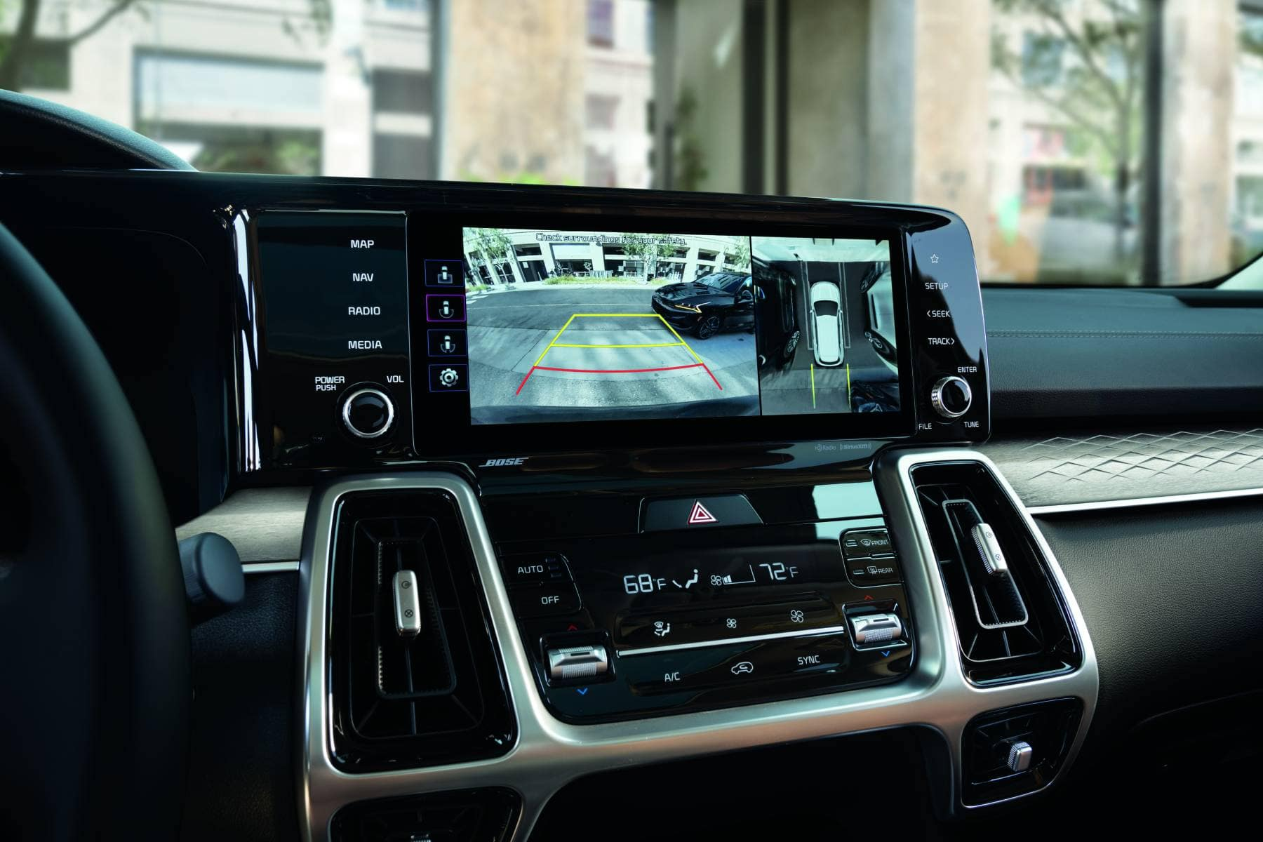 2021 Kia Sorento SX-Prestige Interior Dash Screen - Pat ...