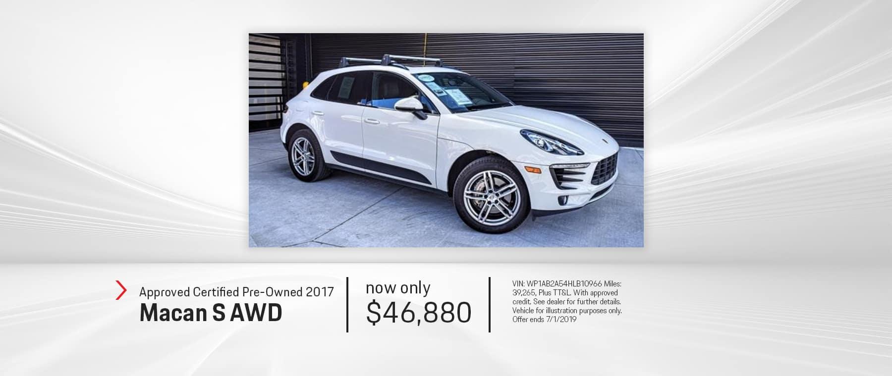 2017_Porsche_Macan_S_AWD_El_Paso_Texas