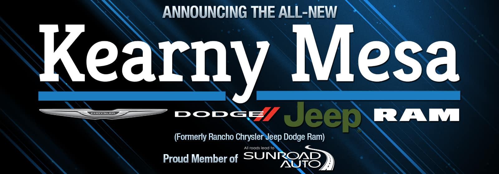 Dodge Dealership San Diego >> Kearny Mesa Chrysler Dodge Jeep Ram | New & Used Cars ...