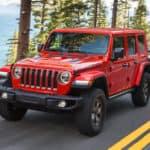 four-door Jeep Wrangler