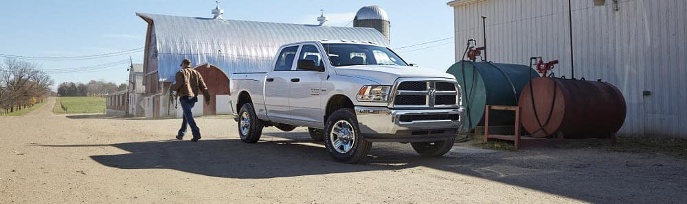 Ram 2500 vs Ford F-250 Comparison