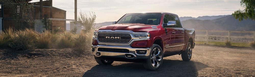 2019 Ram 1500 Maroon