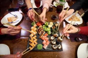 Sushi near Rockwall TX