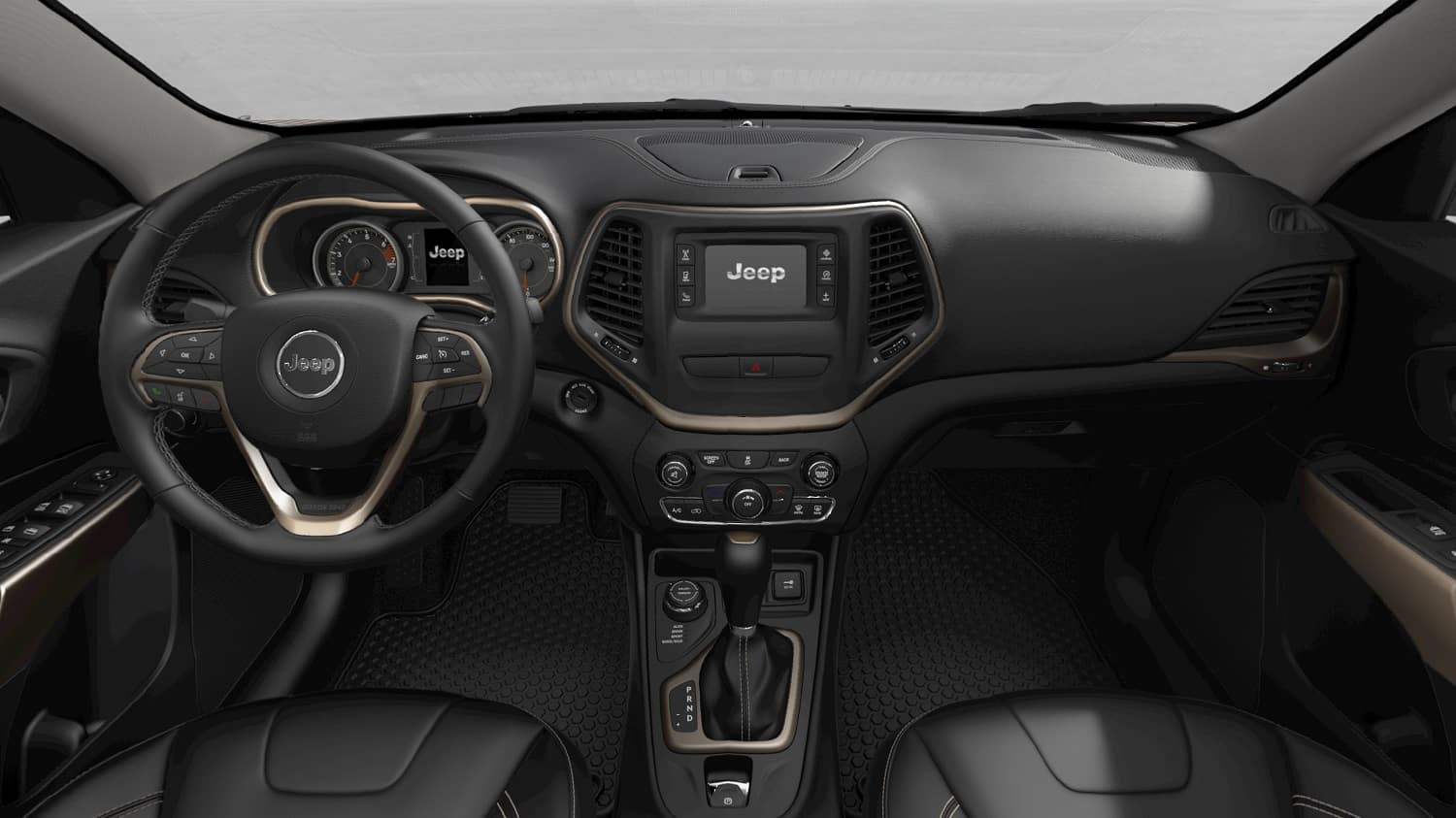 Jeep Cherokee Interior Technology