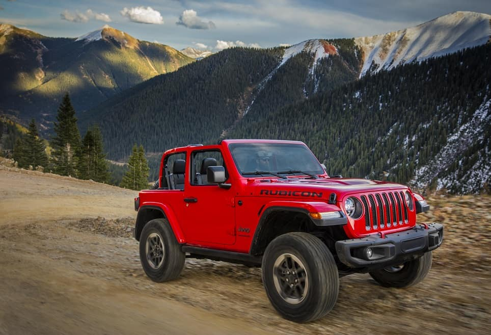 Jeep Wrangler Performance Features