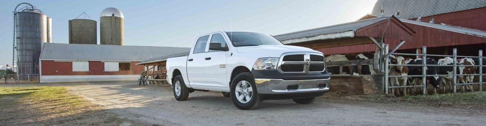 Ram 1500 Tradesman Crew Cab with Chrome Package