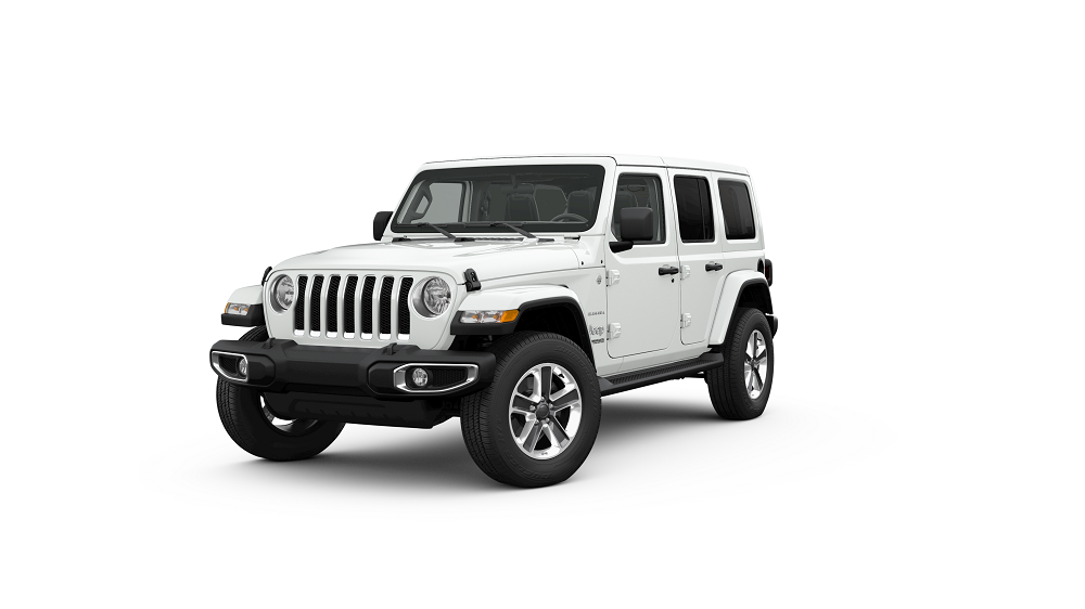 Jeep Wrangler White