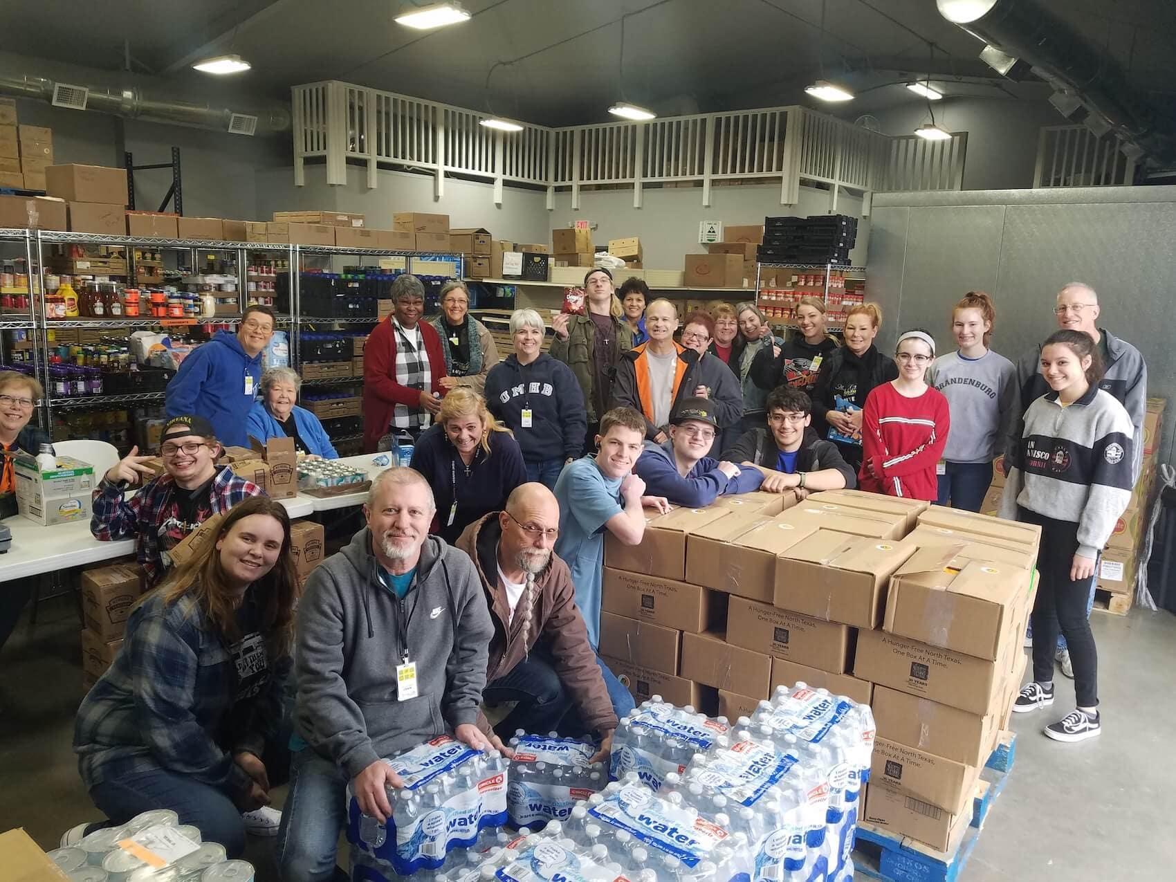 Amazing Grace Food Pantry Volunteers