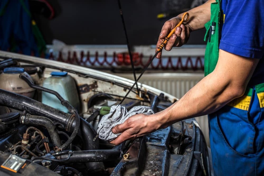 Jeep Wrangler Oil Change