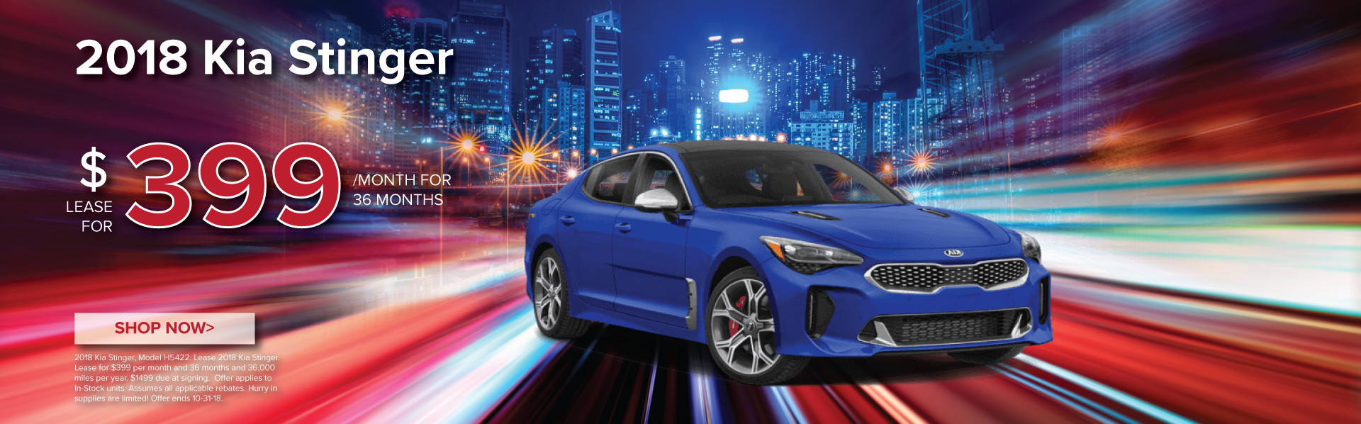 Attractive 2018 Kia Stinger