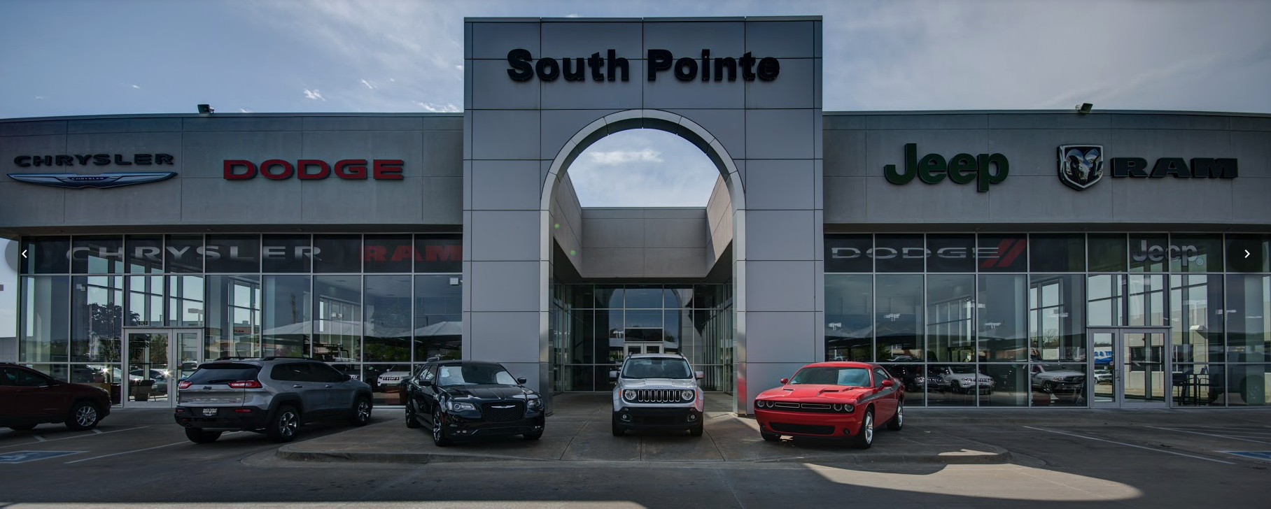South Pointe Chrysler Jeep Dodge Ram dealership near Bartlesville OK