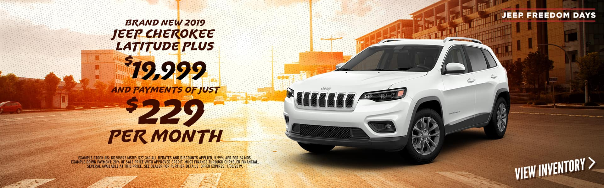 brand-new-2019-jeep-cherokee-latitude-plus-with-payments-of-229-per-month-tulsa