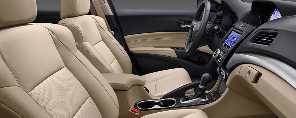 2017 Acura ILX Front Interior Seating