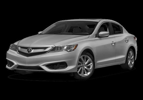 2017 Acura ILX white background