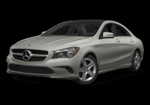 2017 Mercedes-Benz CLA white background