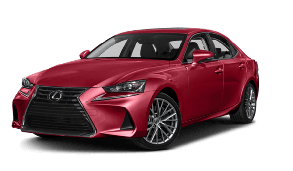 2017 Lexus IS white background