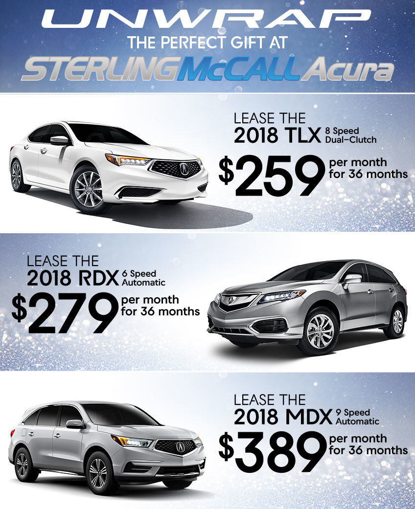 Acura Dealers In Texas: Season Of Performance Event Specials