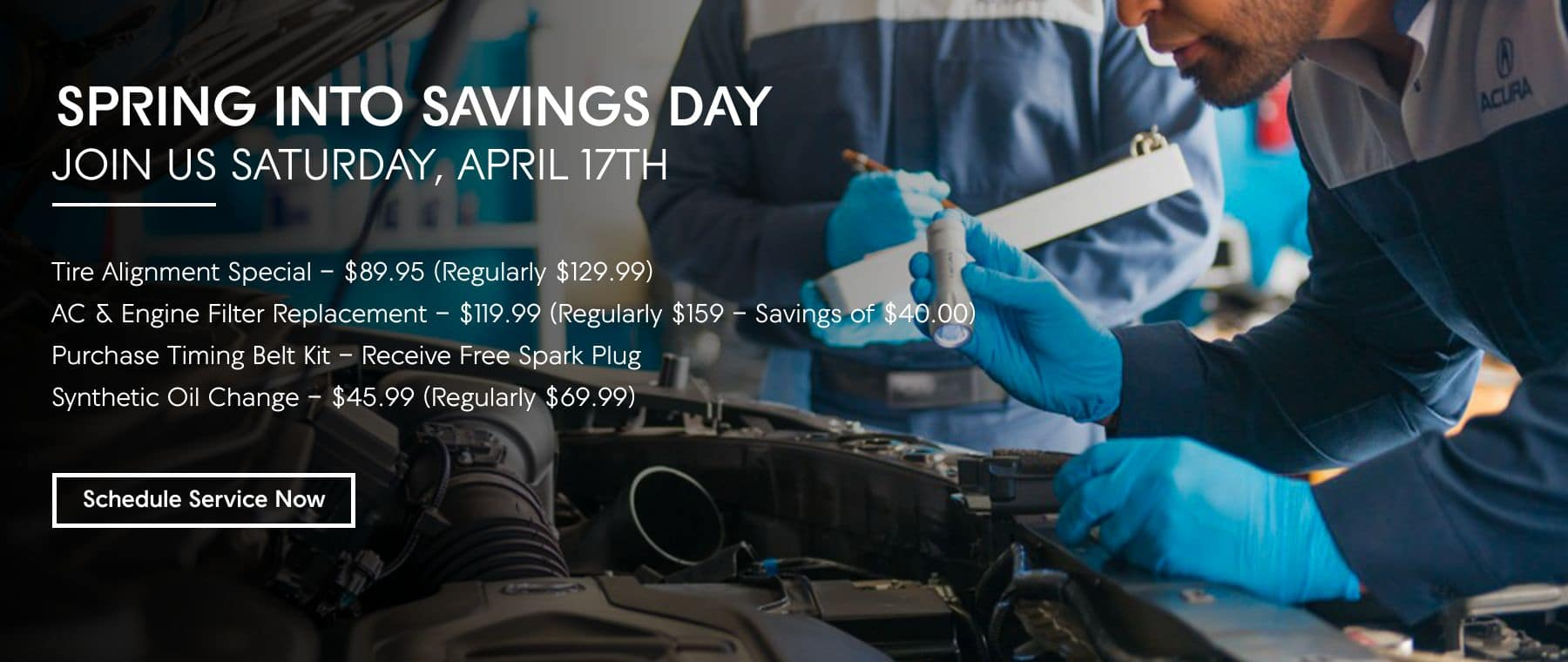 Spring Into Savings Day