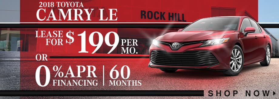 Camry LE Valentines Day Offer