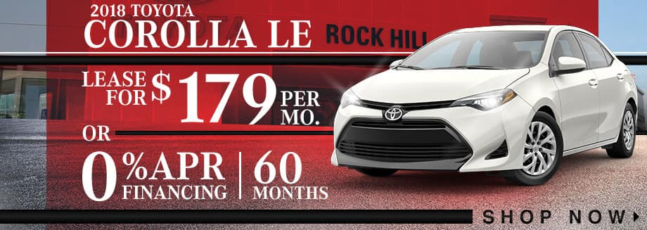 Toyota Corolla LE Valentines Day Offer