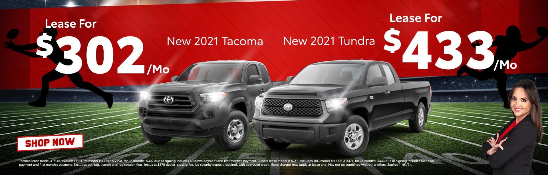 Tacoma/Tundra