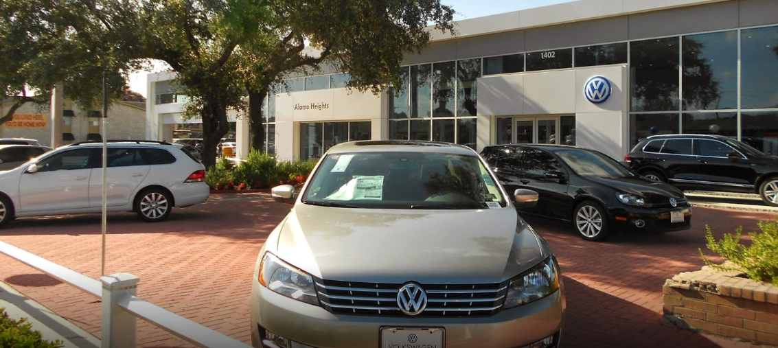find the volkswagen dealership near me in san antonio tx