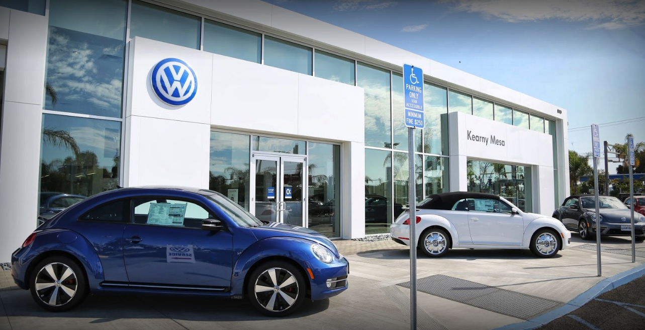 find the volkswagen dealership near me in san diego ca
