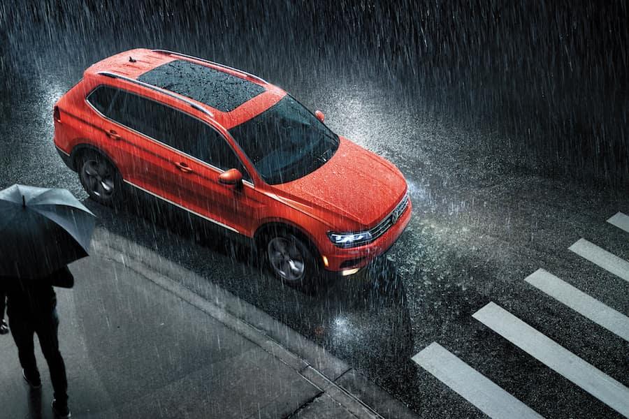 Volkswagen Tiguan Habanero Orange Metallic