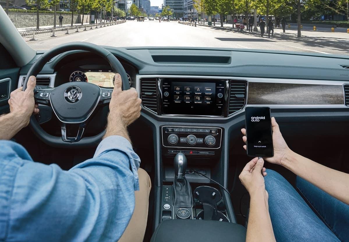 2019 Volkswagen Atlas Android Auto