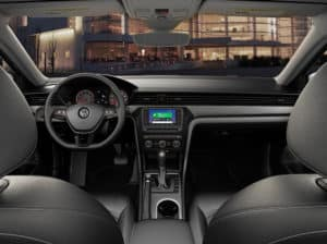 2020 Volkswagen Passat interior technology