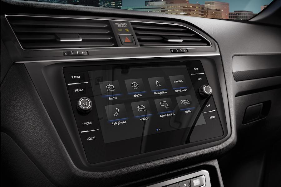 Volkswagen Tiguan Interior Technology