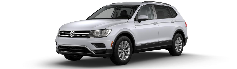 2019 Volkswagen Tiguan S White Silver