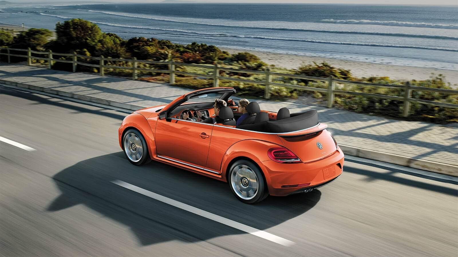 Volkswagen Beetle Convertible Habenero Orange
