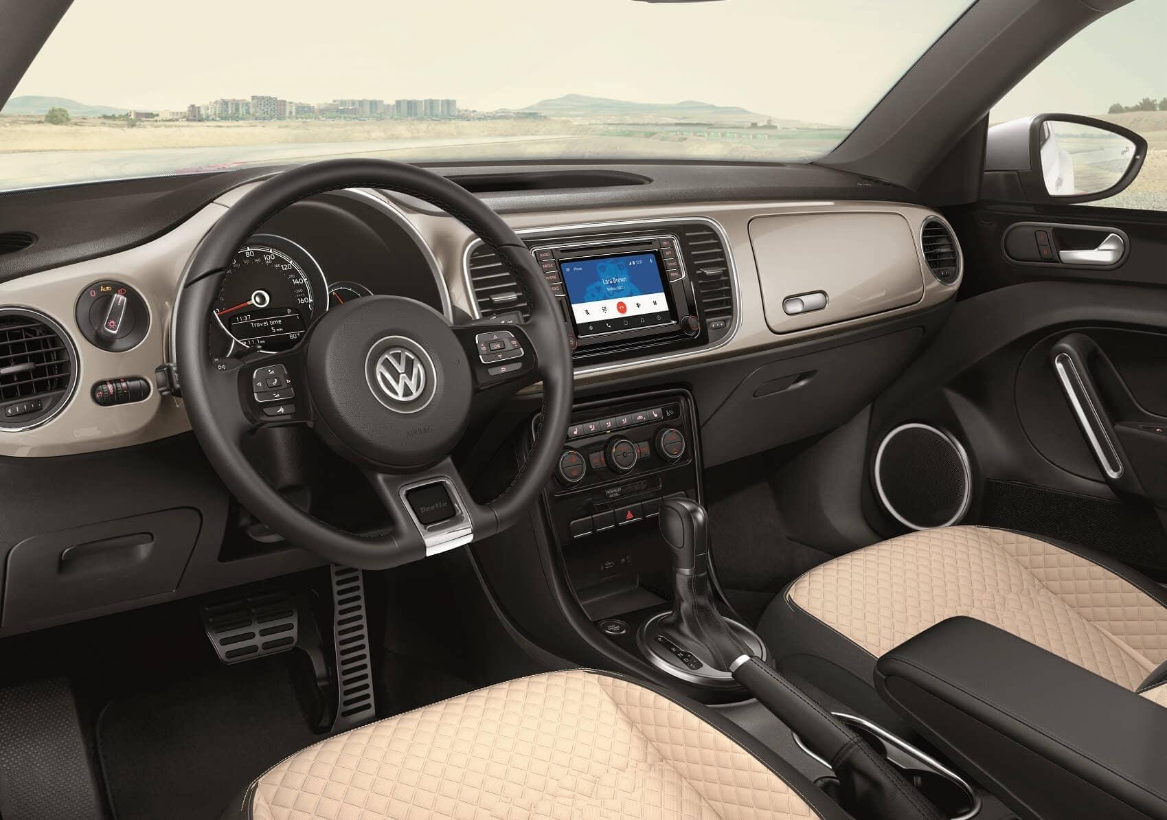 Volkswagen Beetle Convertible Interior