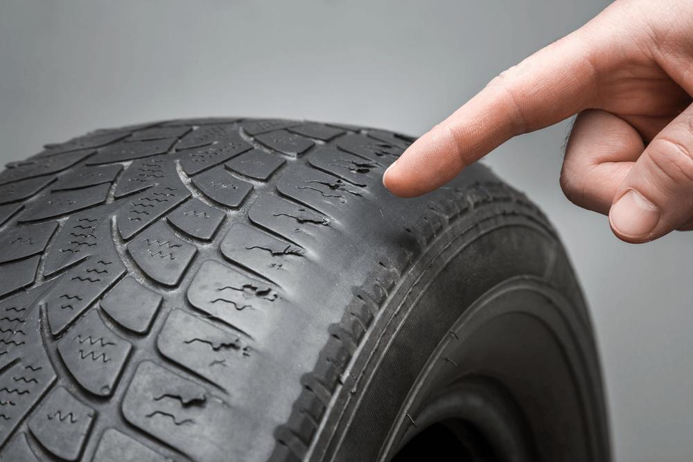 Balding Tire