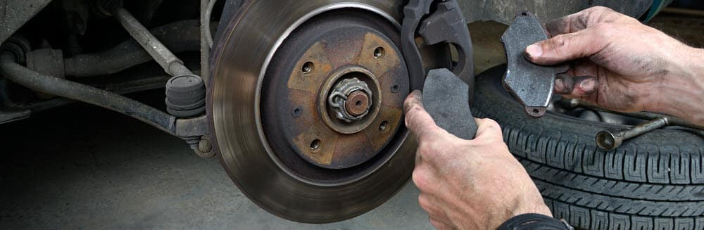 Brake Pads vs Rotors
