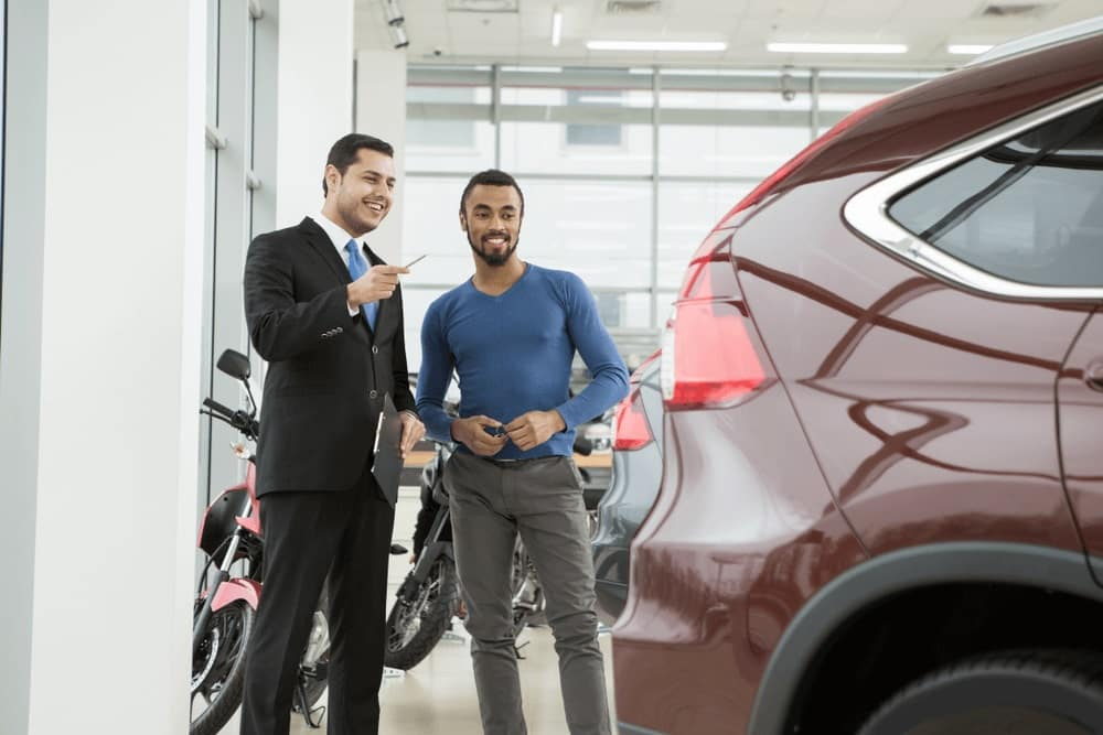 Shopping for Vehicle at Dealership